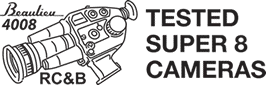 Tested Super 8 Cameras Logo
